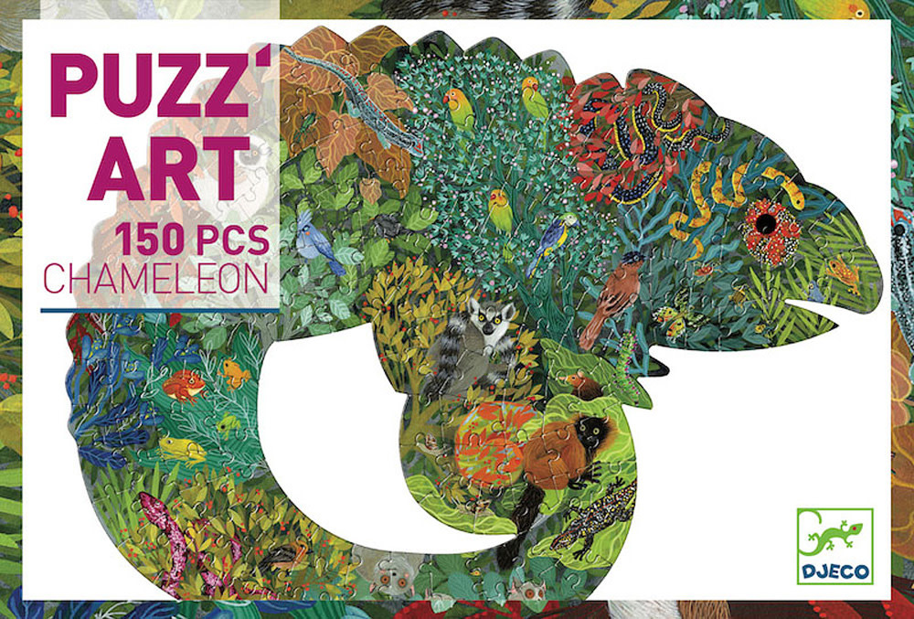 Puzz Art Chameleon 150 Pc-1