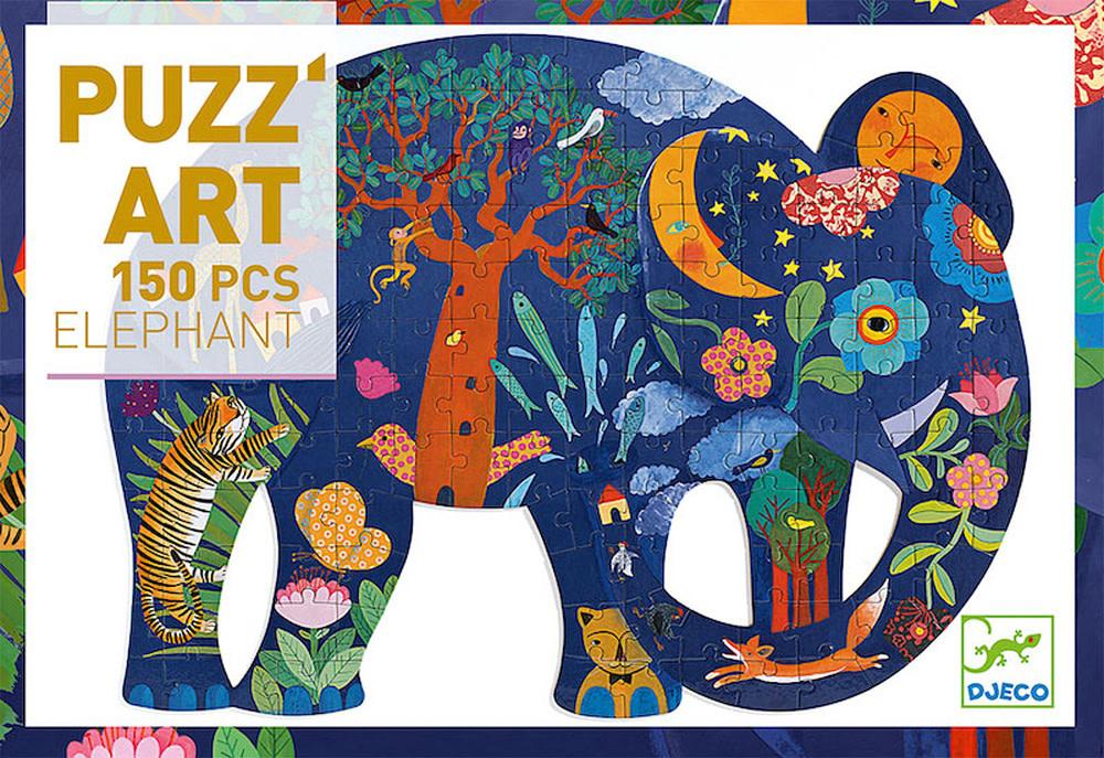 Puzz Art Elephant 150 Pc-1