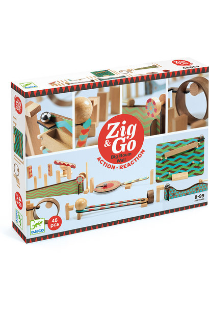 Zig & Go Roll Big Boum Wall 48 pc.
