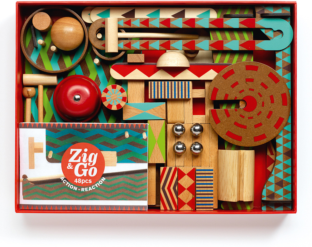 Zig & Go Roll Big Boum Wall 48 pc.-2