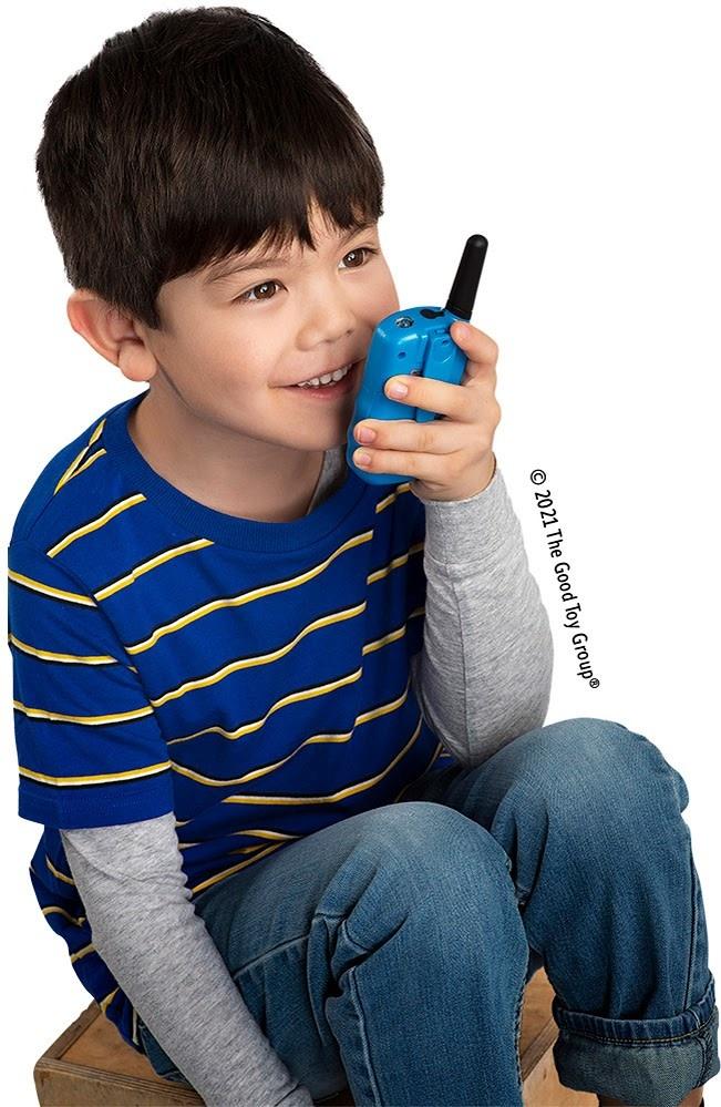Retevis Kids Walkie Talkies w/Flashlight Dk Blue-2