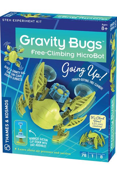 Gravity Bugs Free-Climbing MicroBot