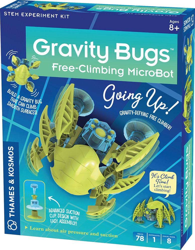 Gravity Bugs Free-Climbing MicroBot-1