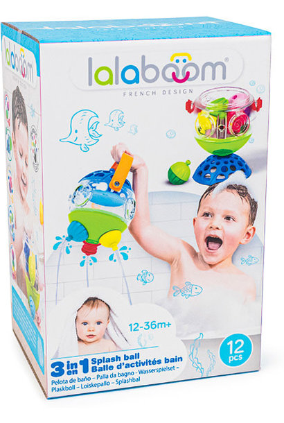 Lalaboom 3 in 1 Splash Ball