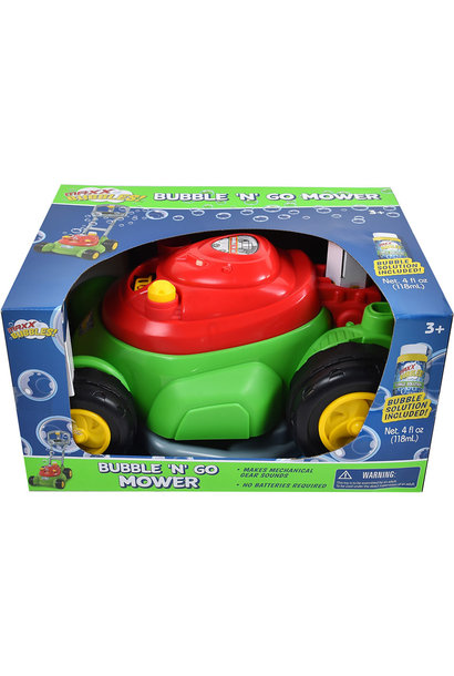 Maxx Bubbles!  Bubble 'N' Go Mower