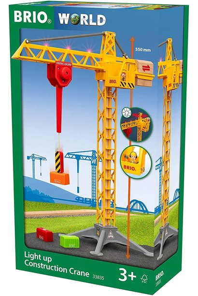 Brio Construction Crane Light Up