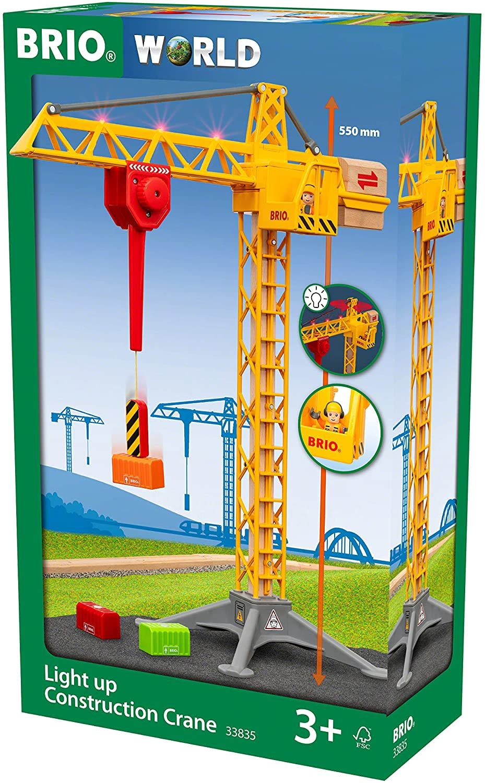Brio Construction Crane Light Up-1