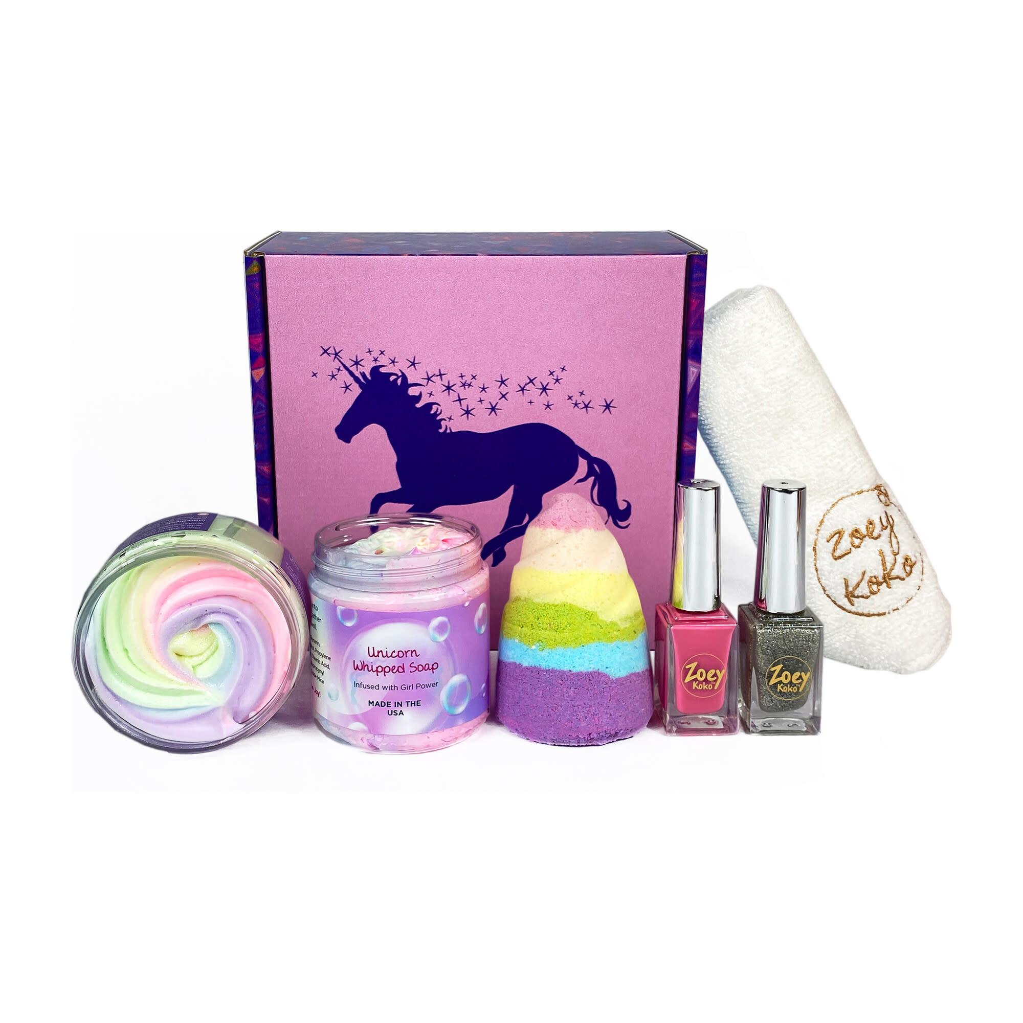 Unicorn Kisses Gift Set Zoey Koko-1
