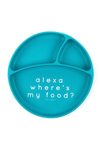 Alexa Wheres My Food Wonder Plate