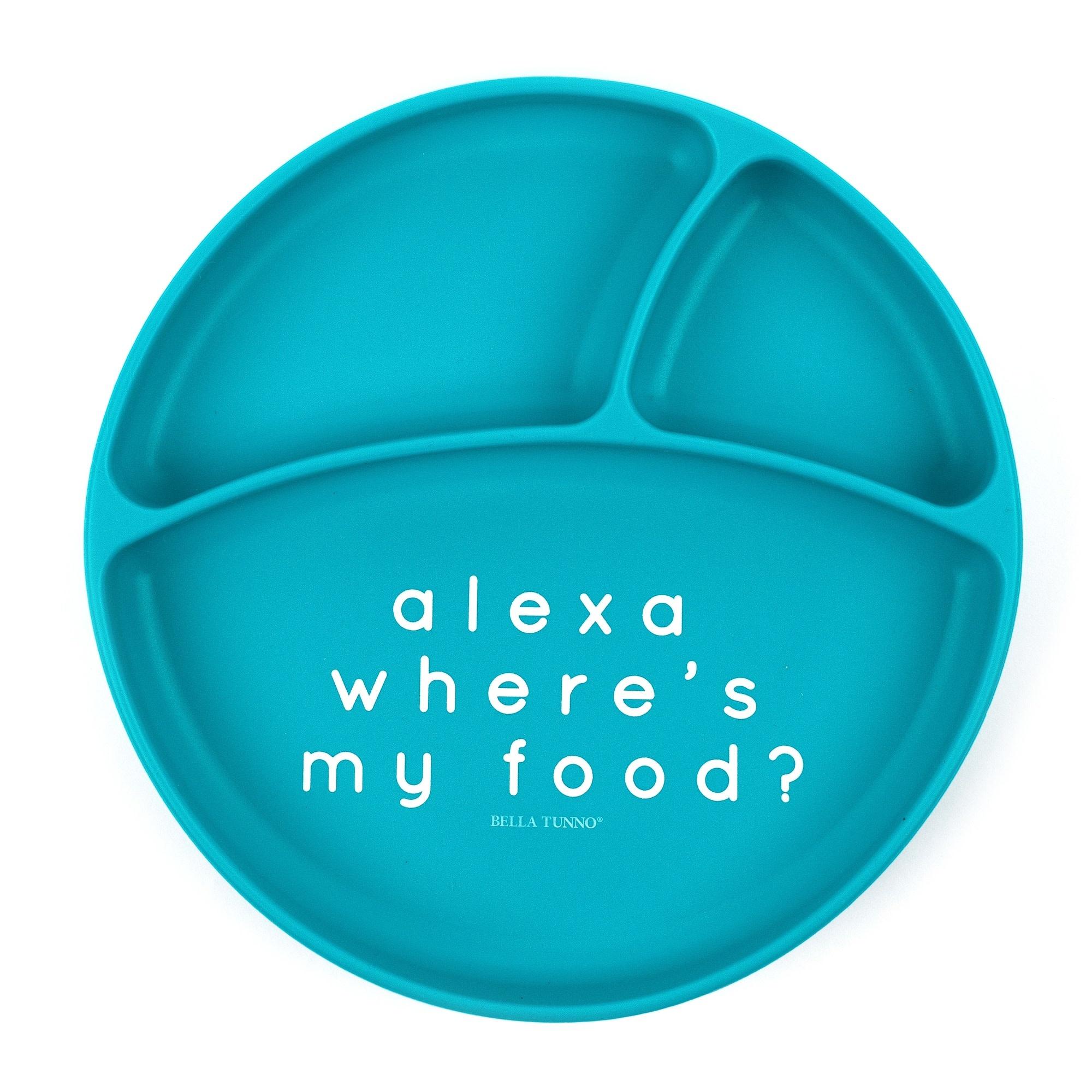 Alexa Wheres My Food Wonder Plate-1