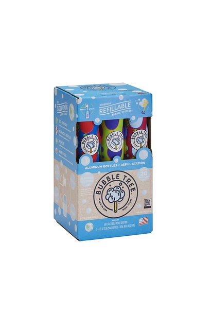 Bubble Tree Refillable System 20 Bottles