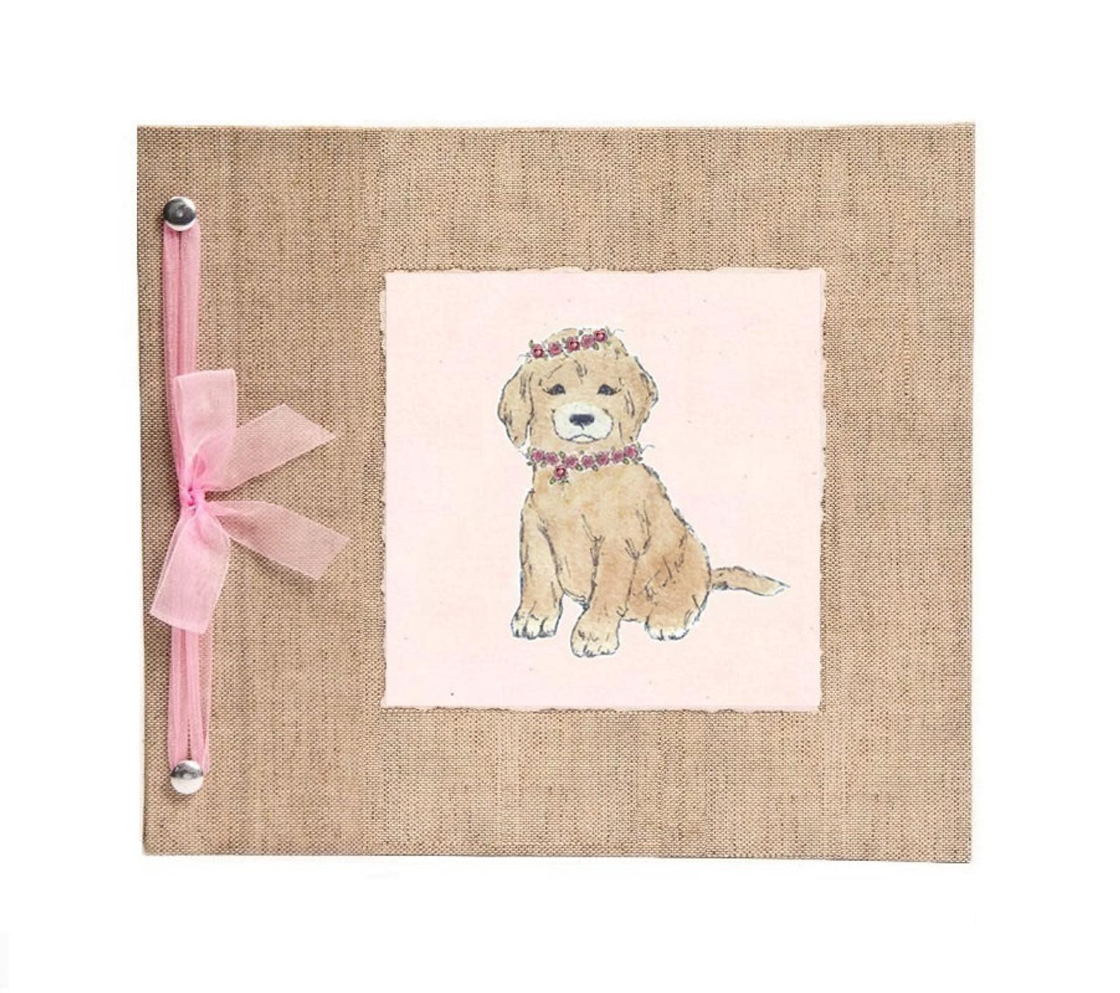 Baby Memory Book Puppy-1