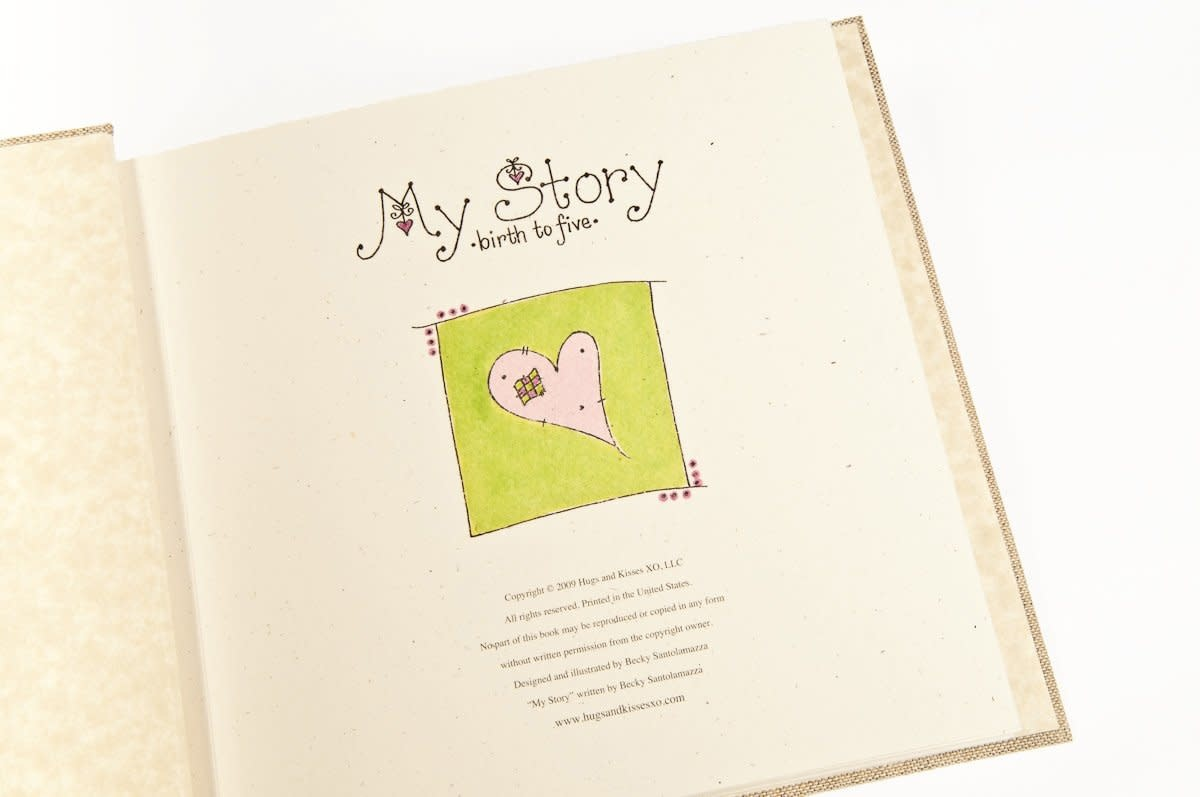 Baby Memory Book You Will Move Mountains Pink-2