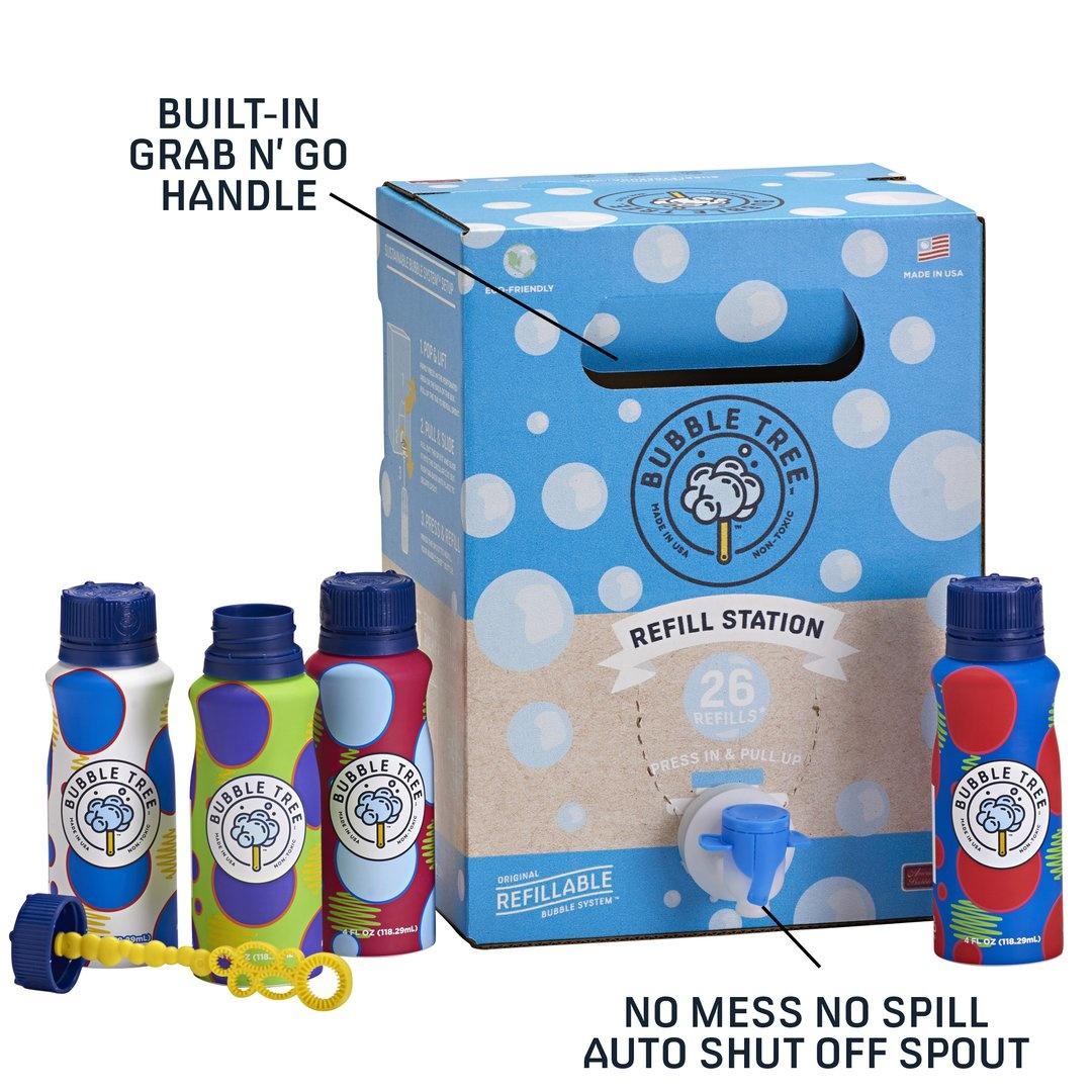 Bubble Tree Refillable System 30 Bottles-2