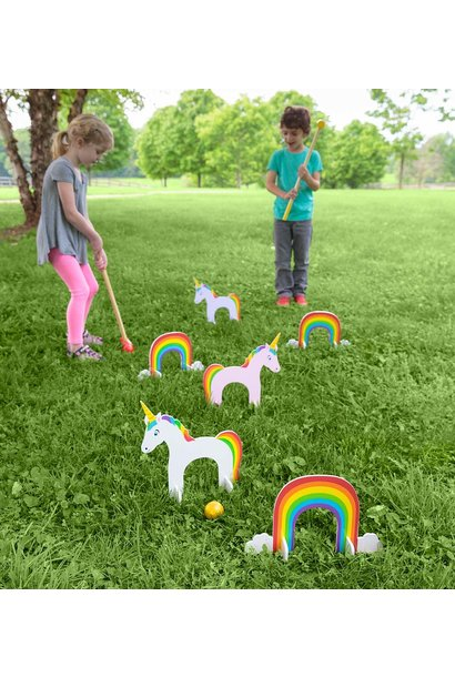 Unicorn Croquet Set