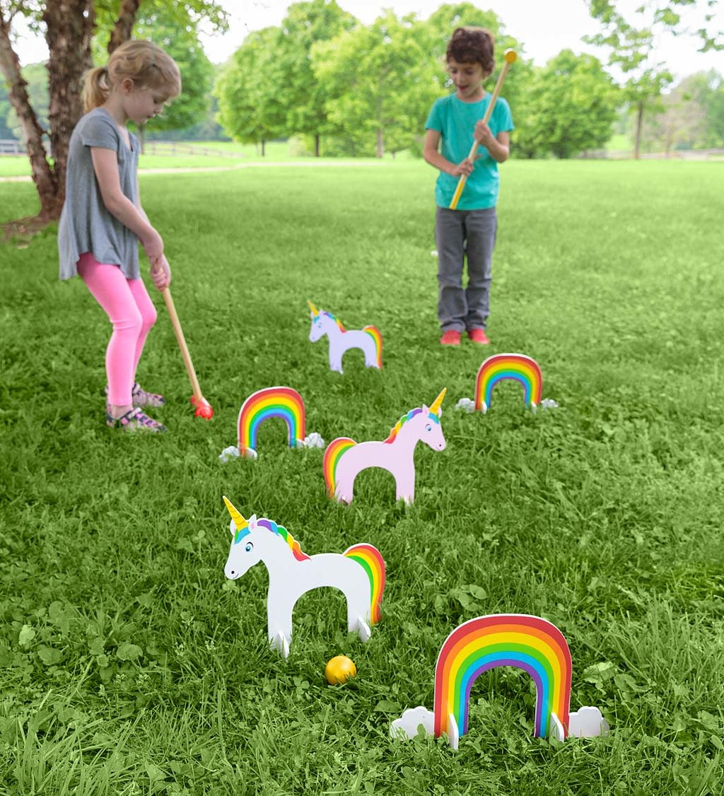 Unicorn Croquet Set-1