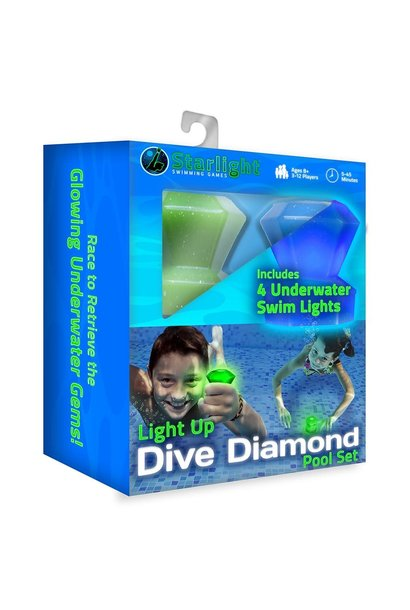 Dive Diamond Light Up Pool Set