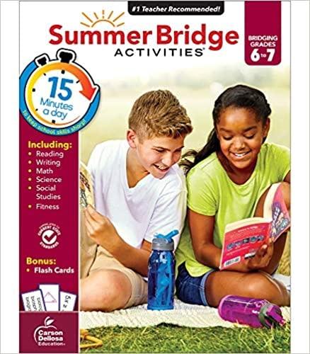Summer Bridge 6-7-1