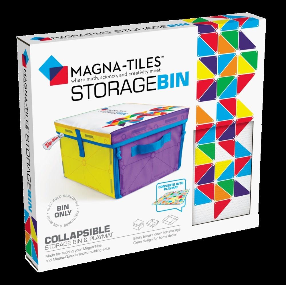 Magna-Tiles Storage Bin and Playmat-2