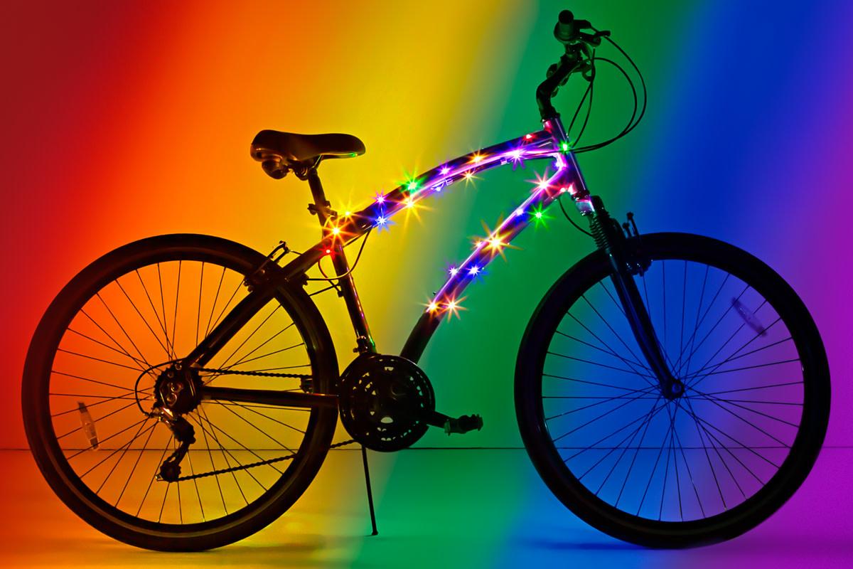 CosmicBrightz  Rainbow Bike Wrap-1