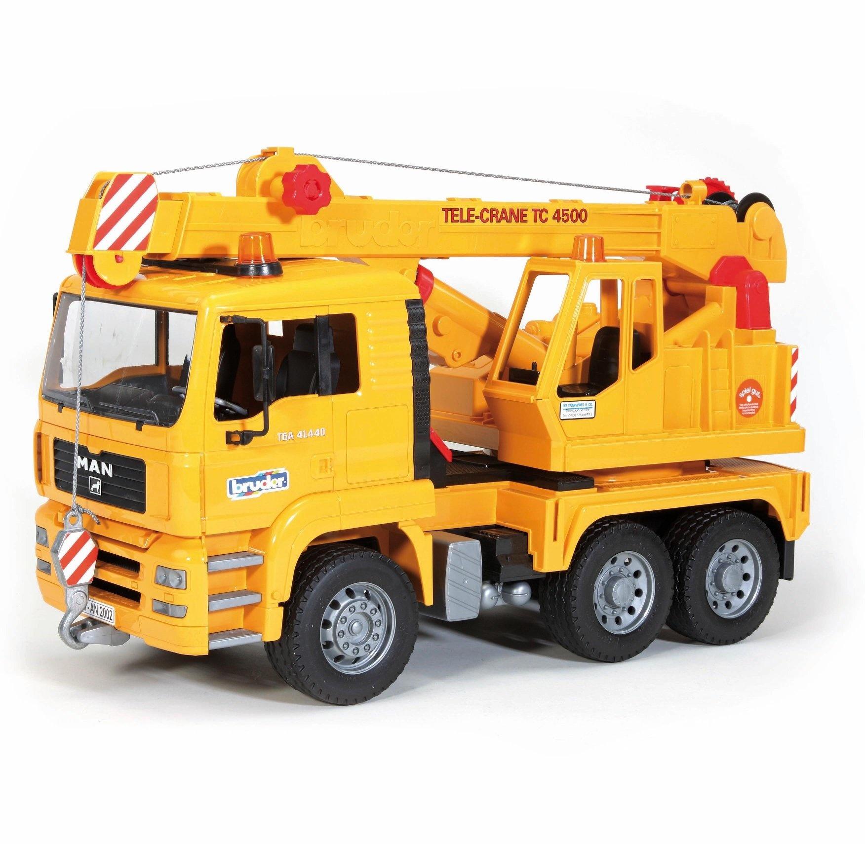Bruder MAN Crane Truck-2