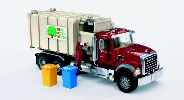 Bruder Mack Granite Side Loading Garbage Truck-1