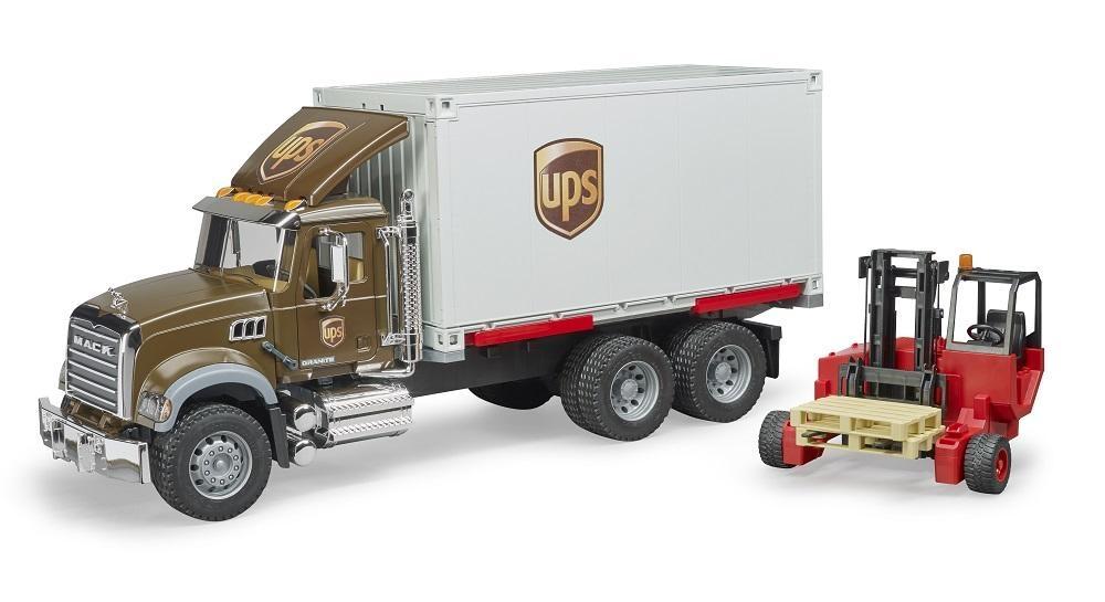 Bruder UPS Mack Logistik Truck-2