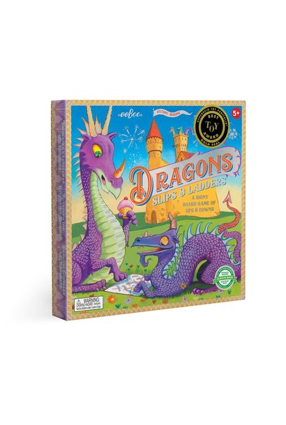 Dragons Slips and Ladders Game