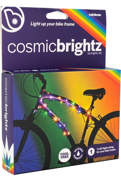 CosmicBrightz  Rainbow Bike Wrap