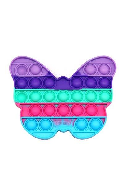 OMG Pop Fidgety Butterfly Rainbow