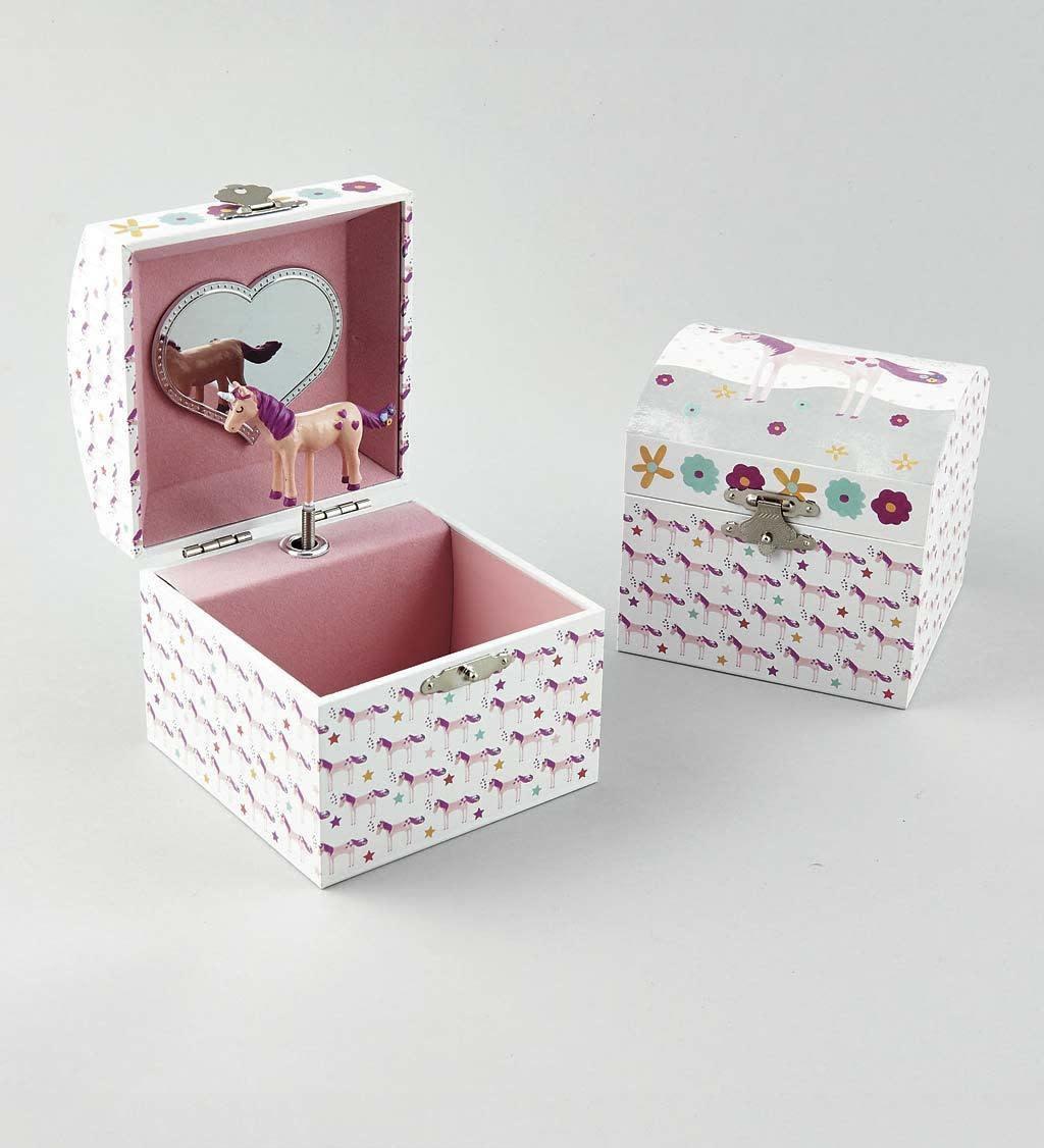 Jewelry Box Unicorn Small-1