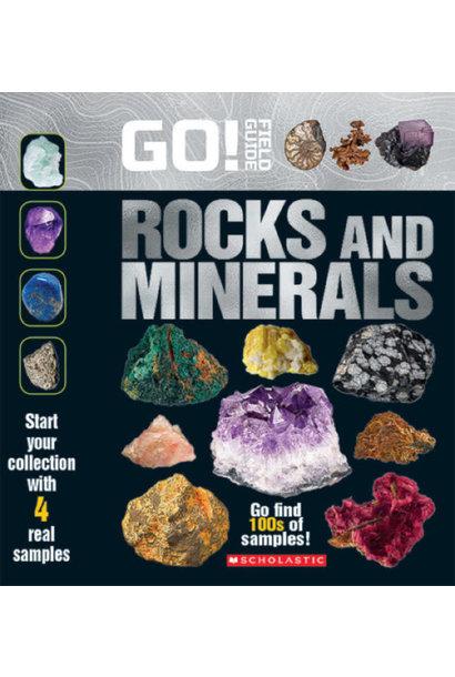 Field Guide Go Rocks & Minerals Book