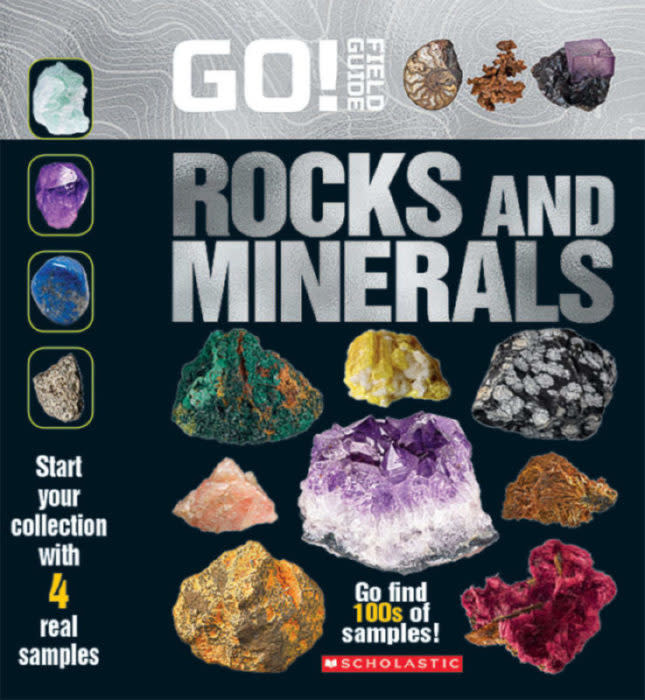 Field Guide Go Rocks & Minerals Book-1