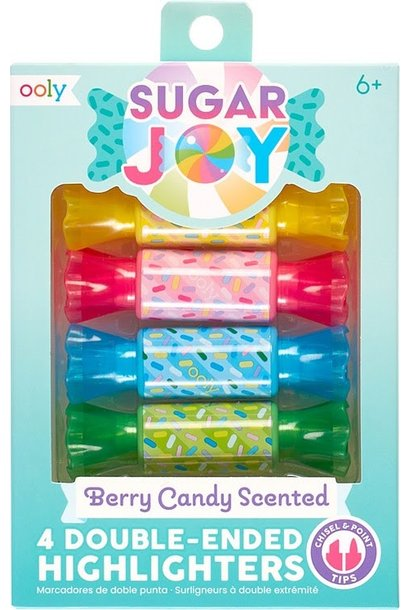 Sugar Joy Berry Candy Scented Highlighters