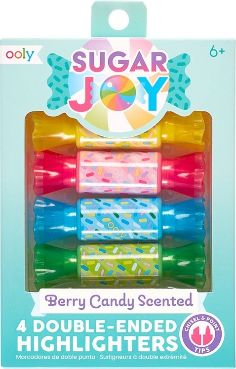 Sugar Joy Berry Candy Scented Highlighters-1