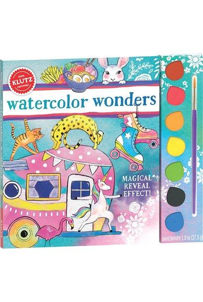 Watercolor Wonders by Klutz