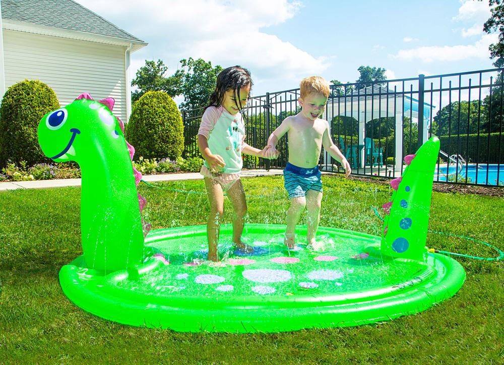 Splashy Sprinkler Dino-1
