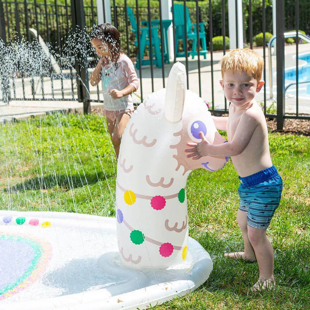 Splashy Sprinkler Llama-3