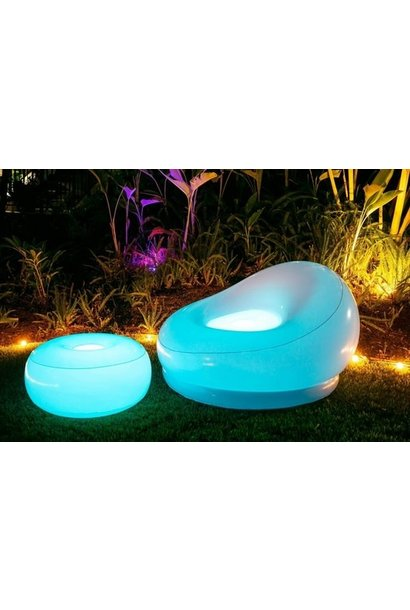AirCandy Illuminated Color Changing Chair