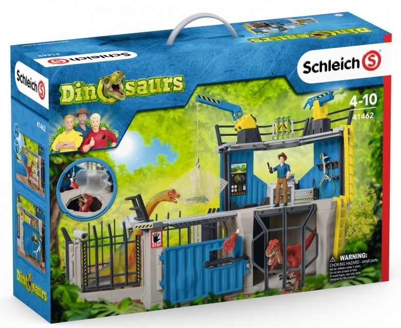 Schleich Large Dino Research Station-1