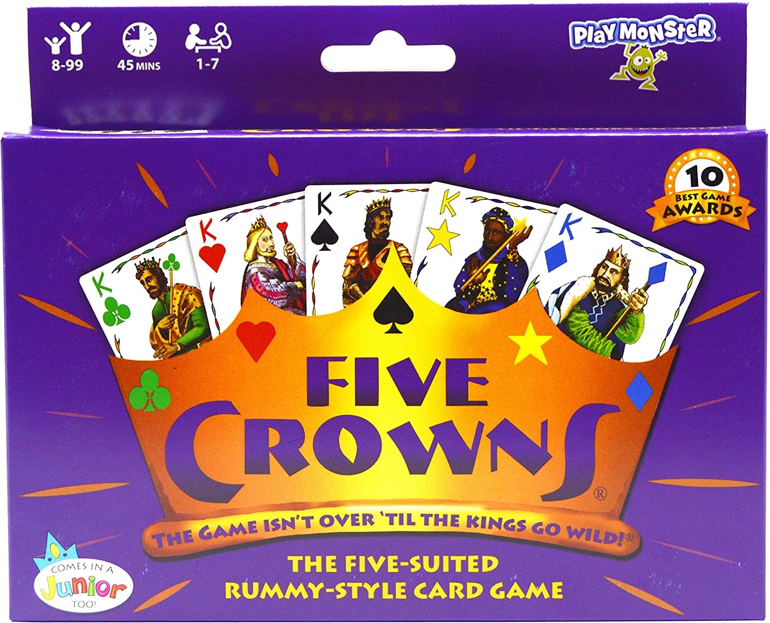 Five Crowns Card Game-1