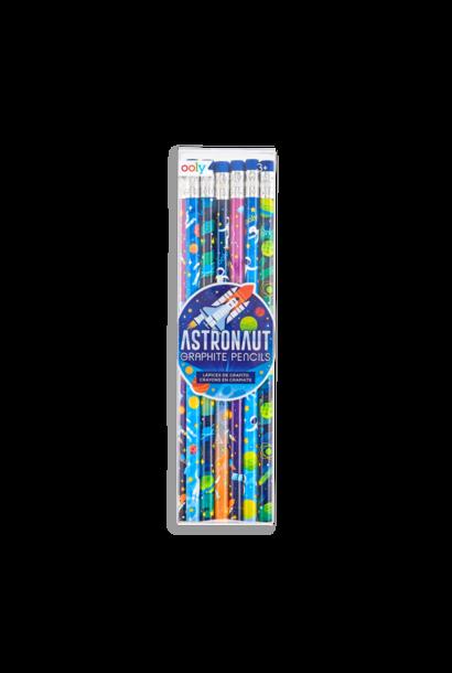 Astronaut Graphite Pencils