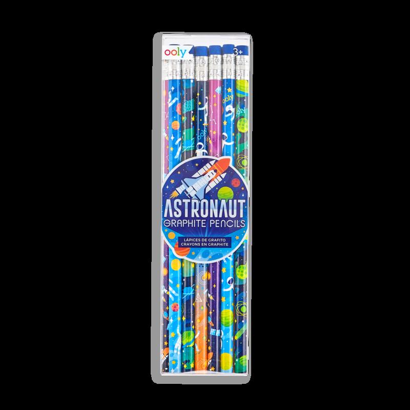 Astronaut Graphite Pencils-1