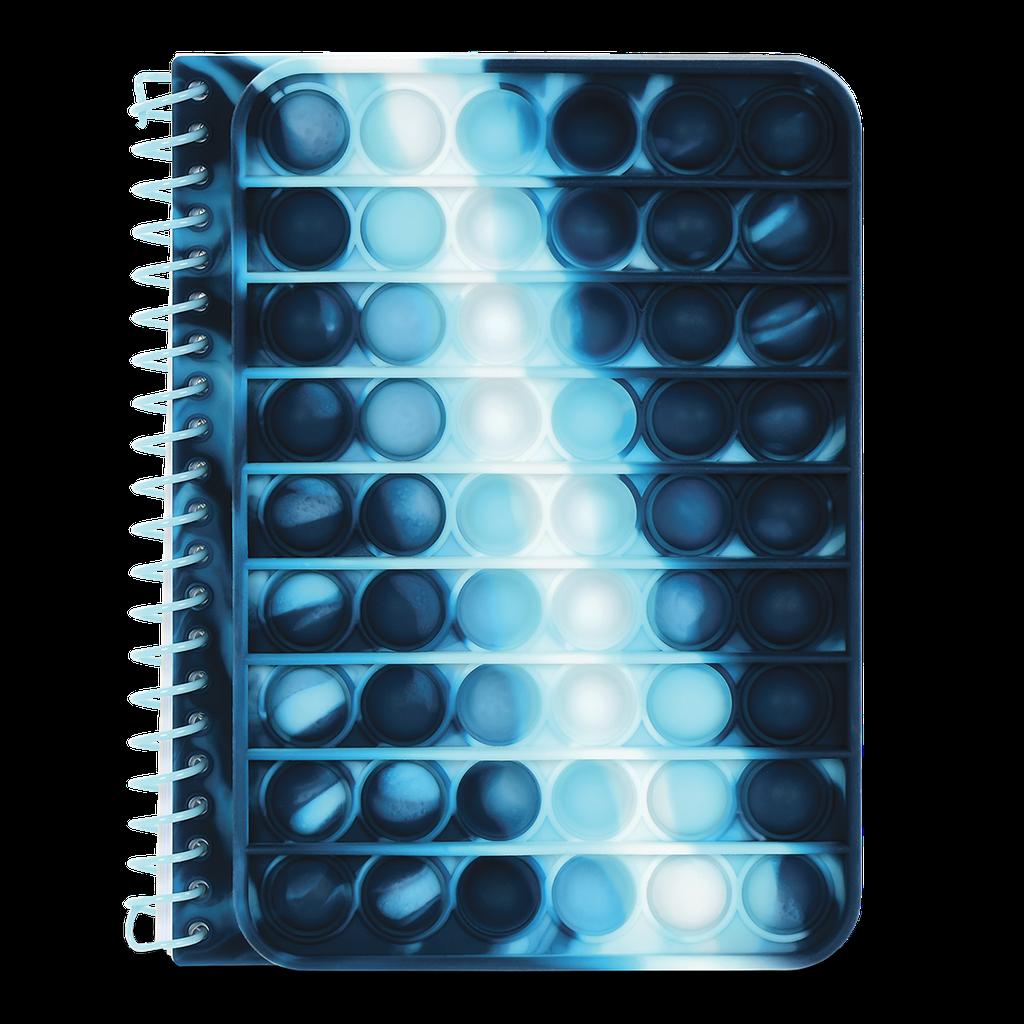 Blue Tie Dye Popper Journal-1
