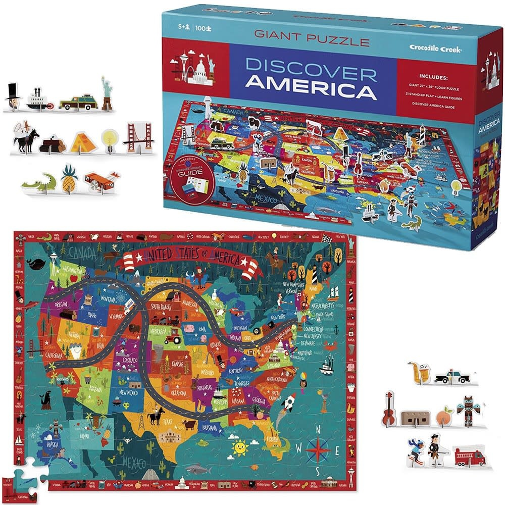 Discover America Puzzle + Play-2