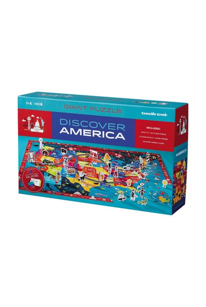 Discover America Puzzle + Play