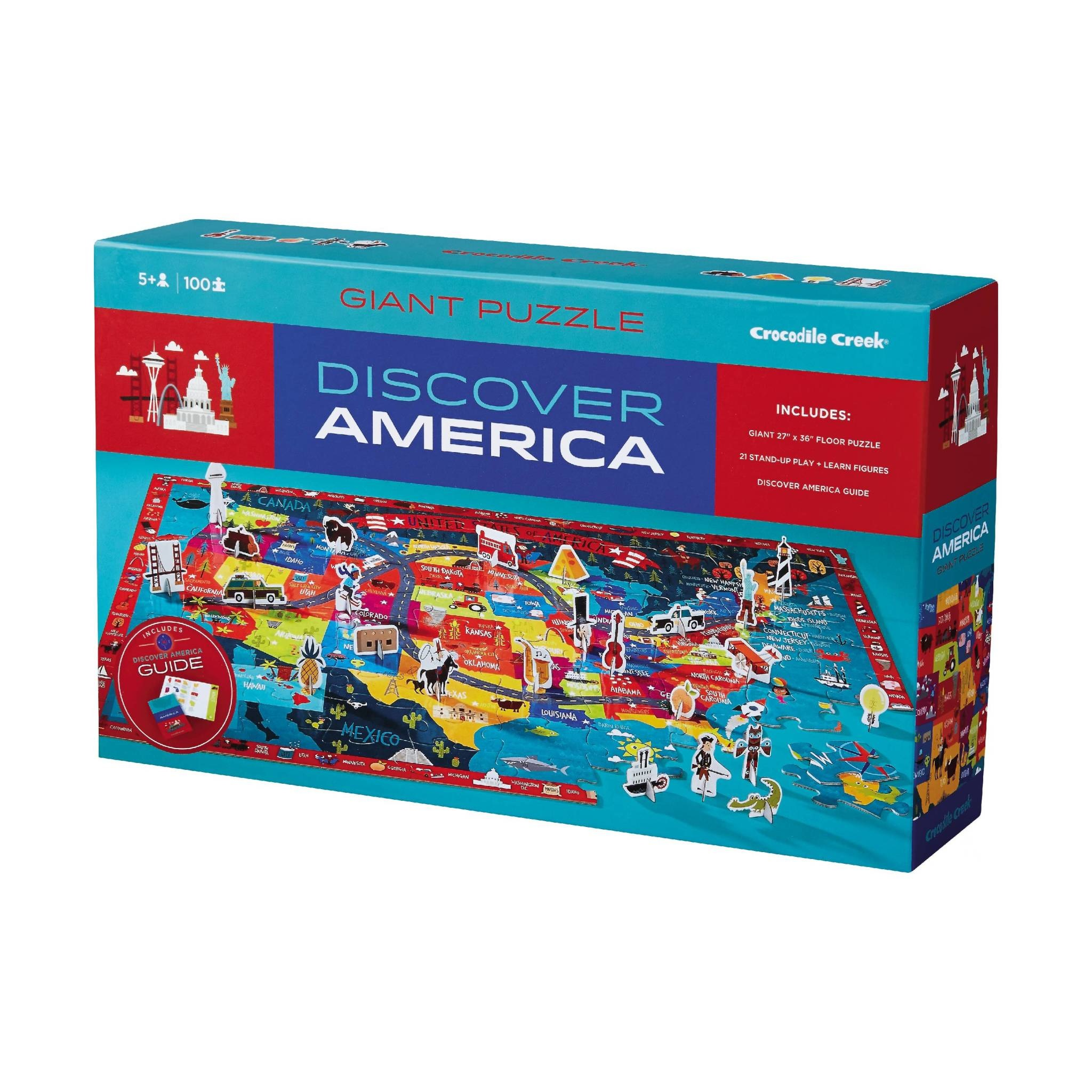 Discover America Puzzle + Play-1