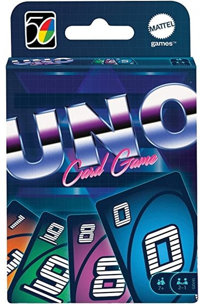UNO Iconic 1980's Card Game