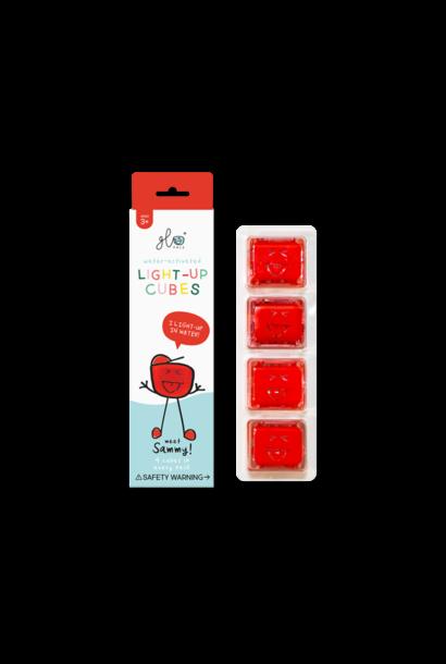 GloPals Light Up Cubes Red