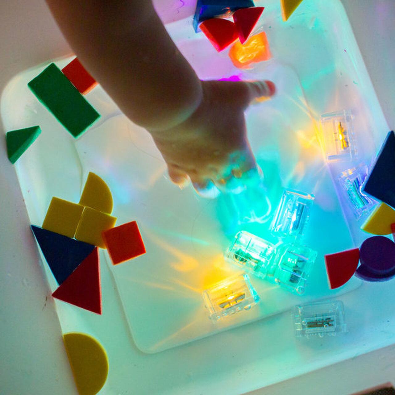 GloPals Light Up Cubes Yellow-3